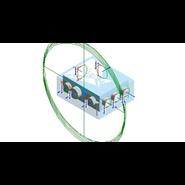 Heat recovery ventilation DX HUB 5 - bim