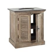 Washbasin in wood and marble furniture - bim