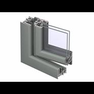 CS 59 Pa Door inward Opening with double transom - bim