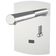 Electronic tap basin: PRESTO DOMO SENSIA - PM with battery CR-P2 Stainless - bim