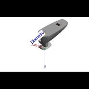 Urinal electronic tap: PRESTO DOMO SENSIA U - bim