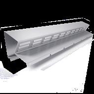 Bandeau de faîtage ventilée h40 - bim