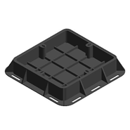 LC_NORIKA_Ductile Iron Heavy Duty Recessed Manhole Cover & Frame - bim